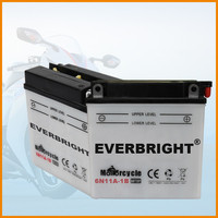 Durable high quality lead acid 6v motorbike battery