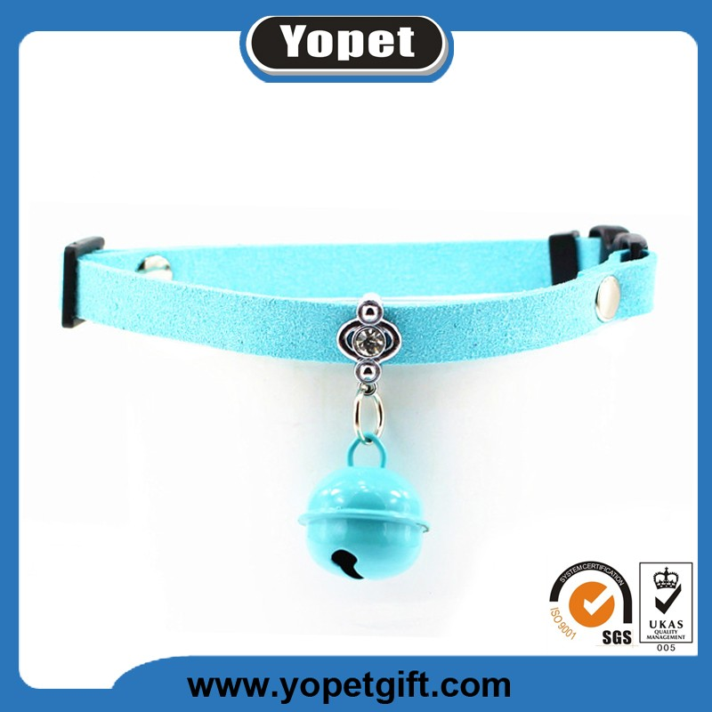 Nylon Personalized Adjustable Cat Breakaway Collar With Bell