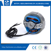 zero electromagnetic interference 12V~240V fan motor