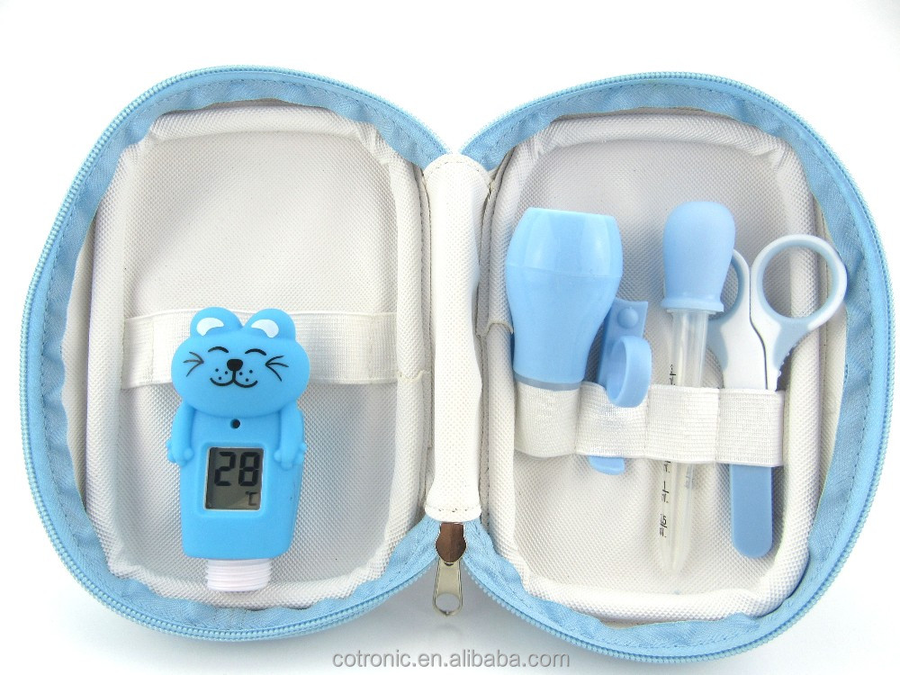 bath thermometer baby's accessory set, baby nursing set