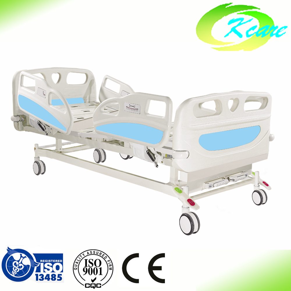 China KS-S208yh for General ward ABS 2 cranks manual hospital bed