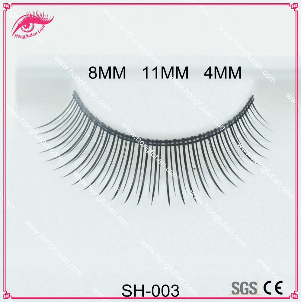 Natural false eyelash synthetic fiber material eyelashes