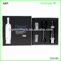 smoke dry herb e cigarette vaporizer pen cloutank m3 kit