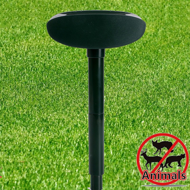Ultrasonic Dogs /Cats Repeller And Outdoor Usage Multifunctional Ultrasonic Pest Repeller With Solar Power