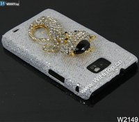 For Samsung Galaxy S2 Case, Glitter Case for i9100, Bling Bling Case for Galaxy S2