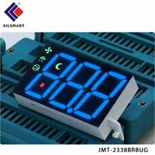 red 7 segment 3digit common anode numeric display for mini led screen