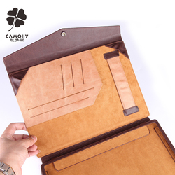 New design color combined leather tablet cover case for ipad air 1/2/3 with card holder wallet and double stand