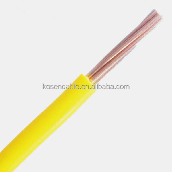 Copper Conductor PVC Sheath Ground Cable Low Voltage