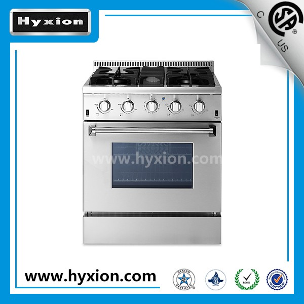 Professional 30 inch indoor gas range appliances