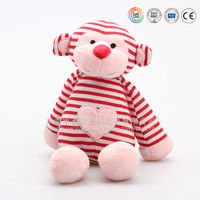 Knitted doll of monkey shape& knitted monkey plush toy