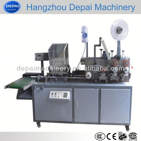 Hot sale hard plastic drinking straw packaging machine model DP-ZX-1