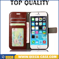 ~smart phone wallet style leather flip wallet stand phone case leather for iphone and all model
