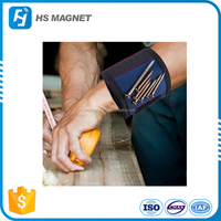 Magnetic Wristband (1 Pack) with Strong Magnets for Holding Screws, Nails, Drill Bits - Best Tool Gift for DIY Handyman, Men