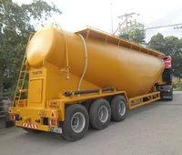 Dry bulk tanker trailer for carry cement, Flour etc. Model Tantri TBK52