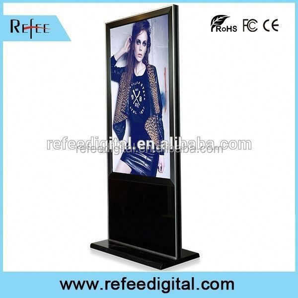32/42/55/65inch ipad style/ stright corner floor standing led commercial advertising display screen