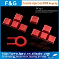 9keys double injection PBT keycap for mechanical standard gaming