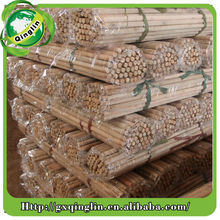 Threaded End eco floor cleaning usage round wood poles for broom