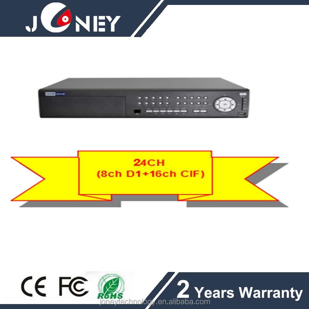 24 Channel Digital Video Recorder,4TB HDD Capacity,Standalone h.264