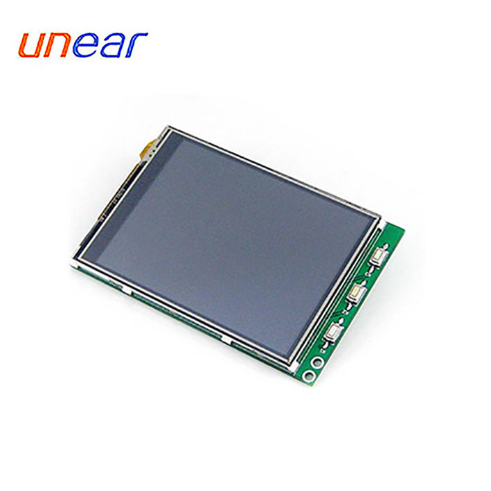 LCD Display Module with Touch Panel in 320 x 240 Dots for washing machine UNLCD91465