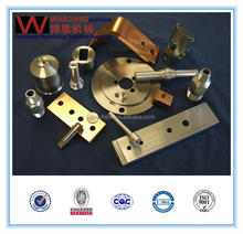 custom printed small brass CMC turning parts for machine part made by whachinebrothers ltd