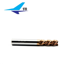 New design single flute end mill cutters with high quality