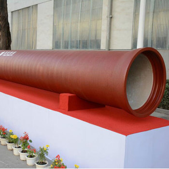 Factory direct ductile iron cast pipe fitting china supplier