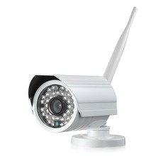 Outdoor camera with continuous recording, bullet camera with free software view via pc, pad, phone