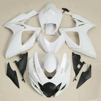 XMT-4098-W Motorcycle Unpainted ABS Bodywork Fairing Kit For GSXR 600 GSX-R 750 2006-2007