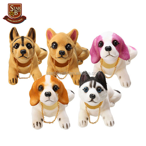 Hot sale custom resin personal dog bobbing nodding nodder moving bobble Head