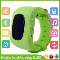 electronic gift q50 gps tracker smart watch phone personal gps tracker and kids hand watch