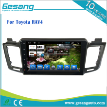 Auto Multimedia car radio android 6.0 car dvd player for Toyota RAV4 with GPS BT DVR TV tuner 3G WIFI AM/FM