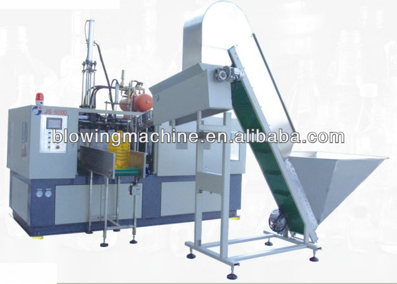 1 cavity 20 liter automatic blow molding machine with deflashing JS-600D