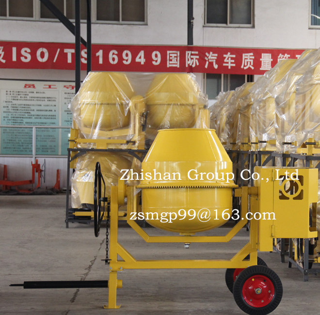 CM350(CM50-CM800) Portable Electric Gasoline Diesel Concrete Mixer Machine for Sale