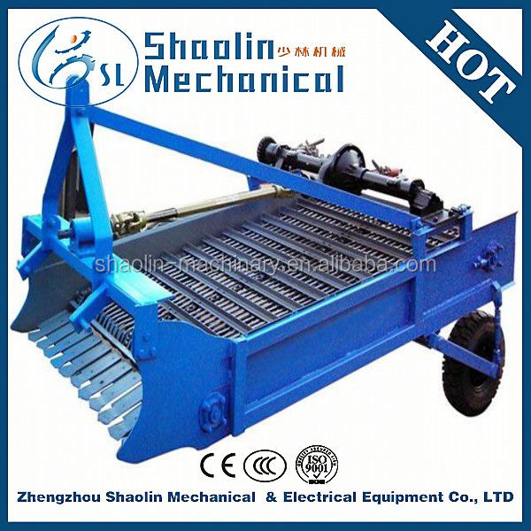 good performance high efficiency tractor sweet potato harvester