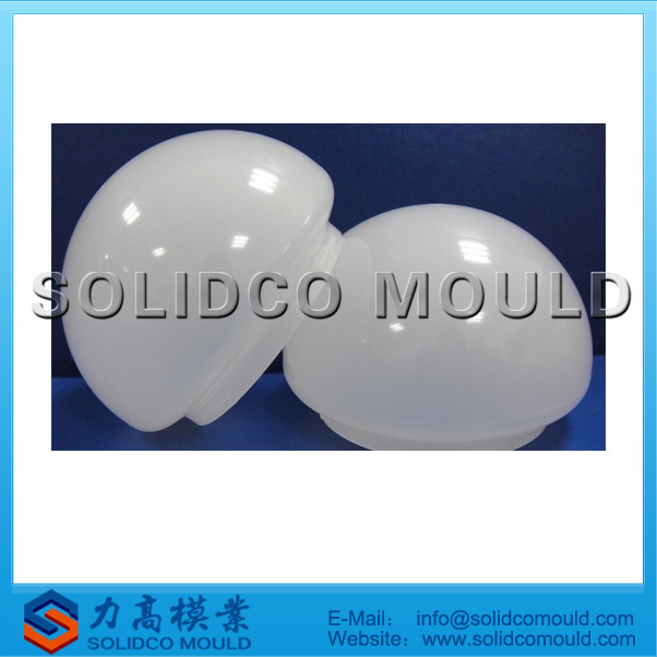 round lamp cover mould, lampshade protective cover mould , plastic lampshade mould