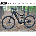 New full suspension mountain bike with Bafang mid-drive motor