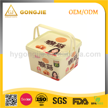2017 hot sell LFGB,FDA,CIQ,CE / EU,SGS Certification disposable design plastic cupcake, sushi box