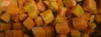 Chinese IQF frozen pumpkin price
