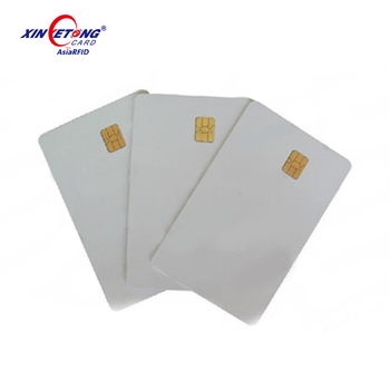 Contact pvc blank chip card for pvc business card printing blank like visa credit cards