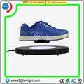 Acrylic Material levitation platform with LED light for shoe hanger