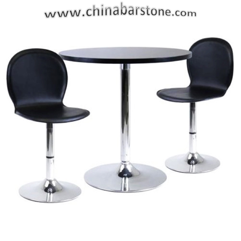 Fashion and elegant design solid surface marble top restaurant dining table and chair