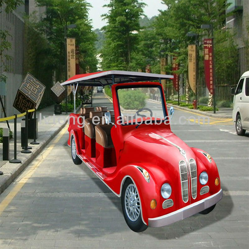 Luxury 8 seaters electric resort classic car for sale