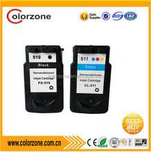 Compatible for canon PG-510 CL-511 ink cartridge used in printer for Canon mp250 iP2700 MP240 MP250