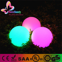 China powerbeauty led lighting colorful orb solar crackle glass ball lights