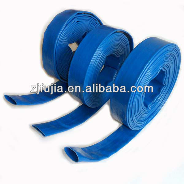 Top quality flexible PVC lay flat water irrigation tube hose pipe