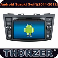 Hot! 7 inch Android 4.0 car dvd with gps for 2011-2012 Suzuki Swift