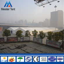 Waterproof white wedding marquee exhibition tent for sale
