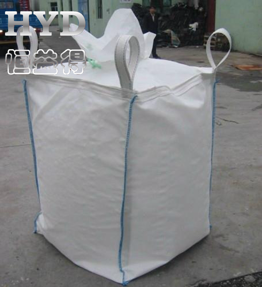 Unloading tote cement big bag factory