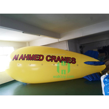 PVC advertising toy inflatable helium balloon airplane, airship blimp from China factory
