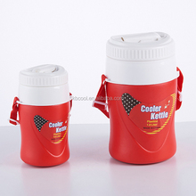 Hot Sale Portable plastic Food Grade Insulated Cooler 1L Beer Ice Water Cooler Jug